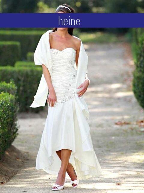 42a0627ad45b Svadobné šaty HEINE sa štôlňou v farbe bielej