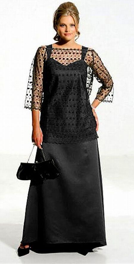 85ffce0fd058 Šaty s čipkovou blúzkou v čiernej farbe od M.I.M.