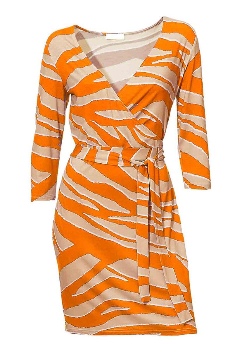 5ec4a0b41b85 HEINE dámske šaty v zavinovacom vzhľade
