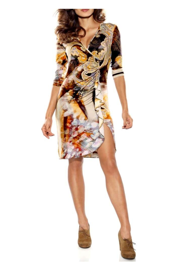 1522df2f634 Z BY ZUCCHERO značkové letní šaty s rozparkem