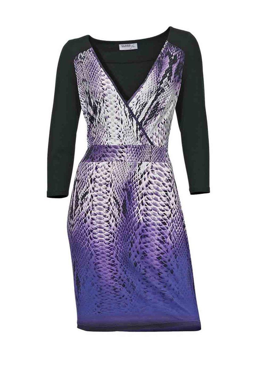 aa39a2dd6d6 CLASS INTERNATIONAL šaty s dlouhým rukávem