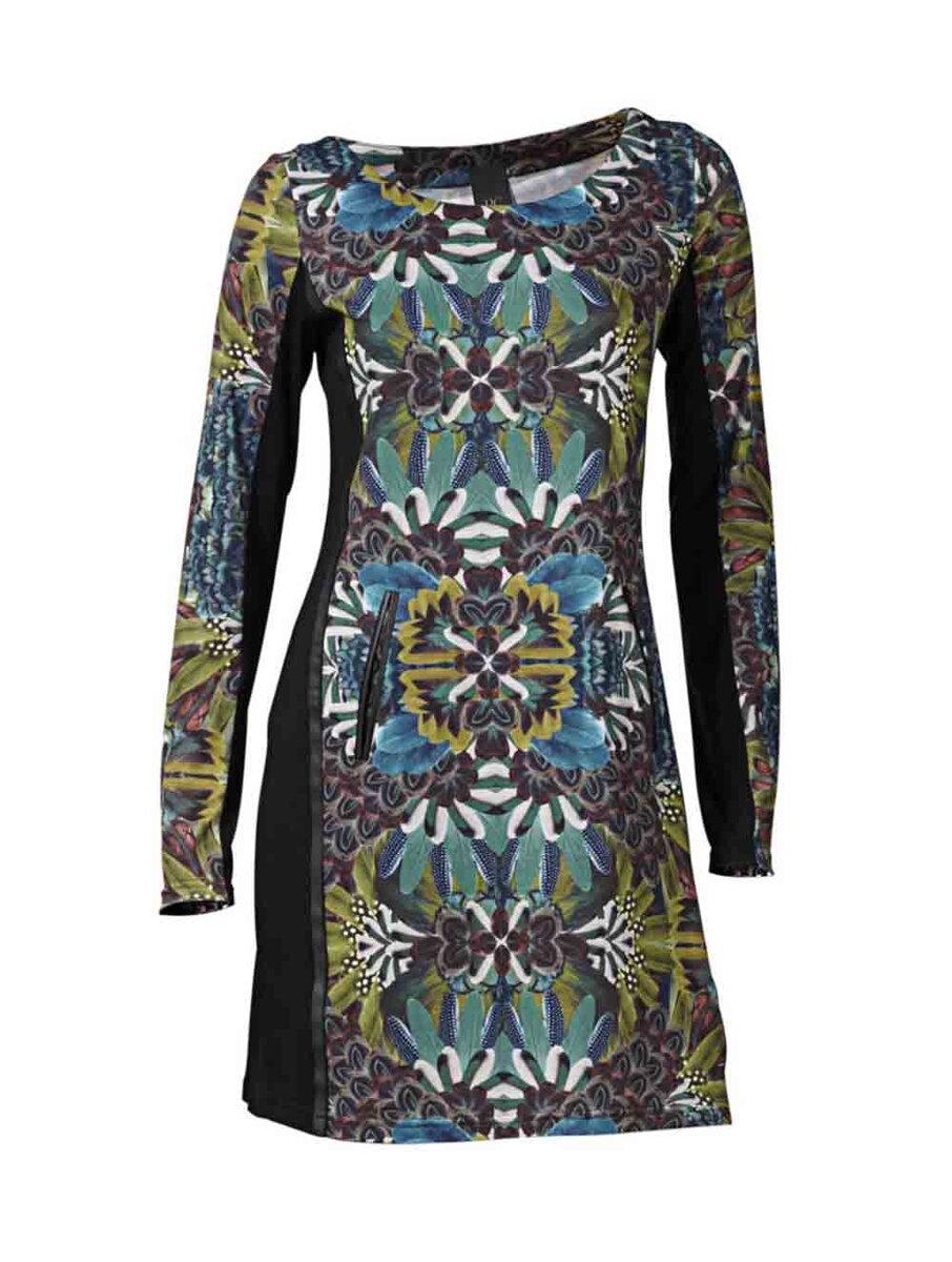 3e7a4f31a782 Mini farebné dámske šaty HEINE