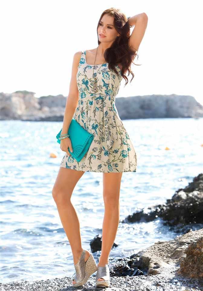4da5752e9 LAURA SCOTT návrhářské letní šaty, mini šaty barevné