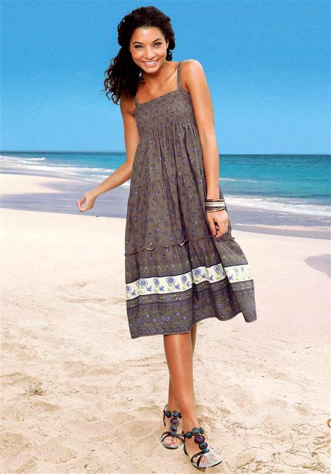 e6bd4c21f95a AJC dlhé letné šaty na ramienka - letné móda