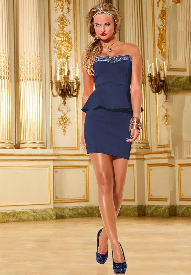 MELROSE spoločenské dámske šaty v návrhárskom strihu 474fc8af033
