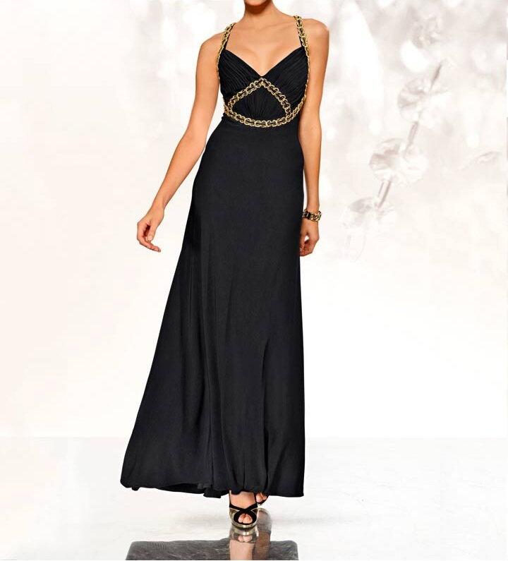 12e4ec7975d HEINE plesové šaty černé