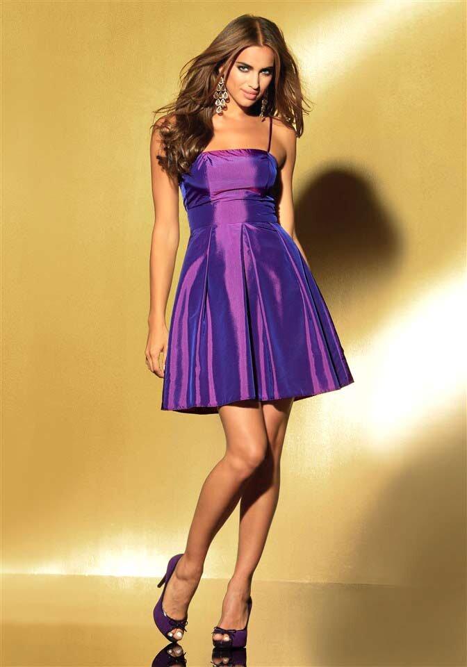 LAURA SCOTT EVENING taftové koktejlové společenské šaty fialové c3a384d84c