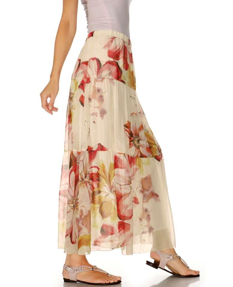 224a6bc7d146 RICK CARDONA návrhářská maxi dlouhá sukně