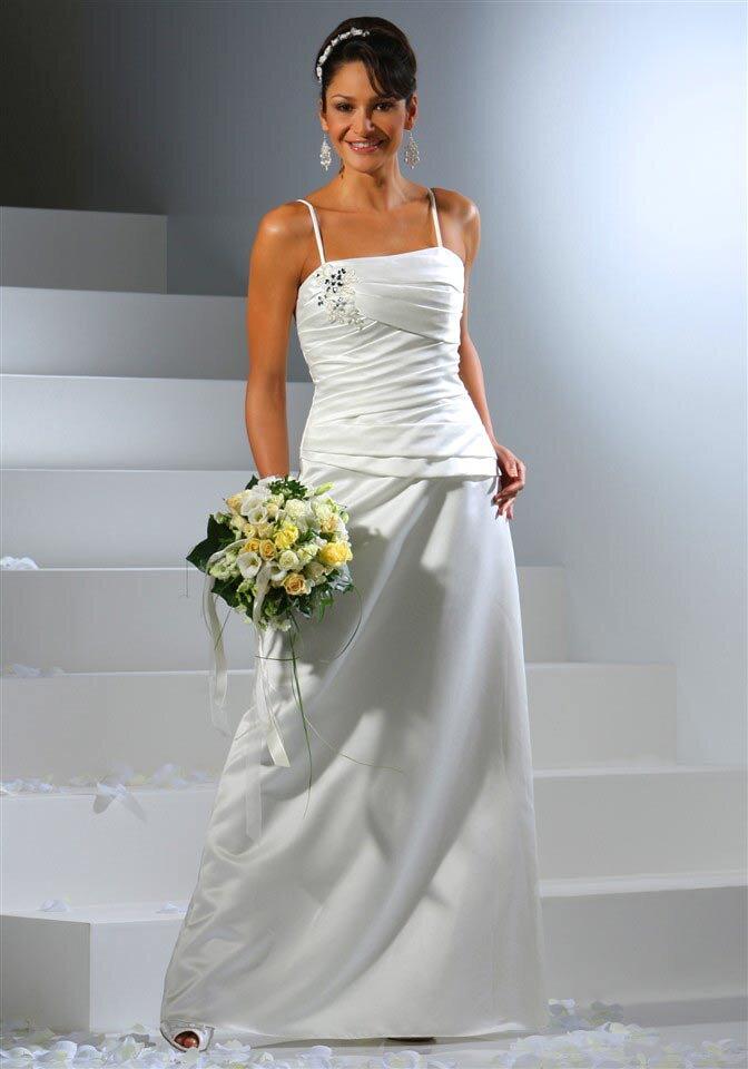 8b9b3ad647ab Laura Scott Wedding svadobné šaty s ramienkami