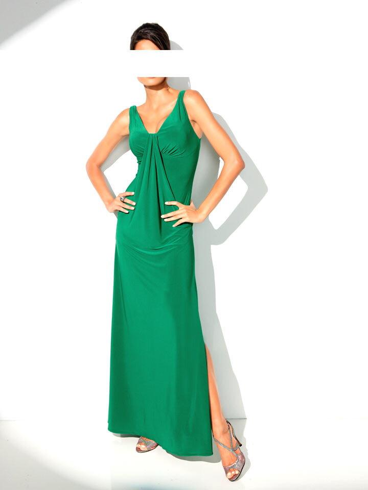 HEINE dlhé šaty zelené afb2c8cb0de