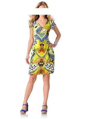 a089e99342fe Návrhárske letné šaty so vzormi RICK CARDONA