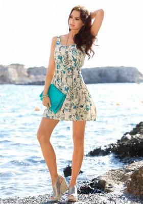 76dcab7d226 LAURA SCOTT návrhářské letní šaty