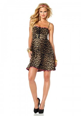 MELROSE mini šaty se zvířecím vzorem 9ca9cca2c8