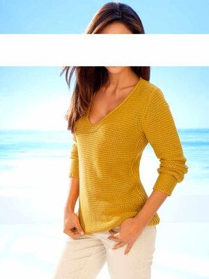 9afff5df8fab Ashley Brooke návrhársky sveter aj pre plnoštíhle