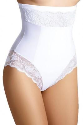 1756f5d9a15 Stahovací kalhotky s krajkou Valerie bílé
