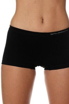 Dámské bezešvé boxerky Brubeck Comfort cotton černé e13d51b6b7