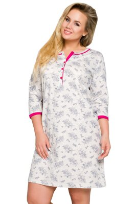 Dámská nadměrná bavlněná noční košile Fabia b89e8406ca